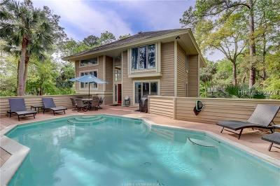 Hilton Head Island Single Family Home For Sale: 14 Canvasback Road