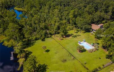 Bluffton Single Family Home For Sale: 3912 Okatie Highway