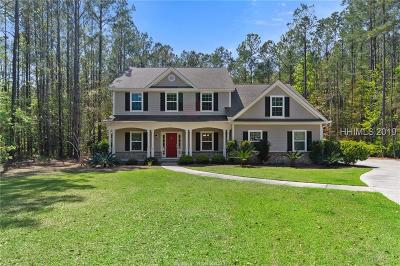 Bluffton Single Family Home For Sale: 7 Bartons Run Drive