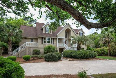 Hilton Head Island Single Family Home For Sale: 19 Flagship Lane
