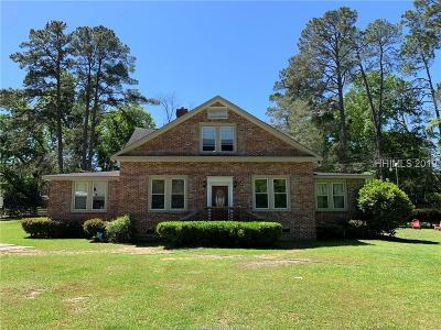 Estill Single Family Home For Sale: 270 Wyman Boulevard