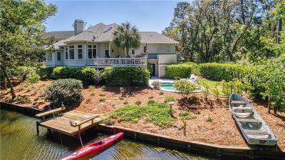Beaufort County Single Family Home For Sale: 17 Midstream