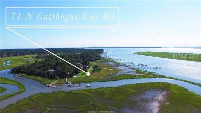 Hilton Head Island Single Family Home For Sale: 71 N Calibogue Cay Road