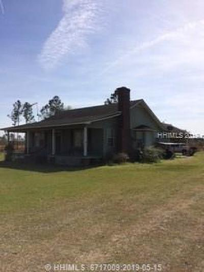 Jasper County Single Family Home For Sale: 3427 Cat Branch Road