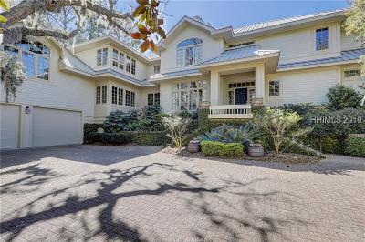 Hilton Head Island Single Family Home For Sale: 7 Long Marsh Lane