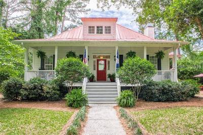 Saint Helena Island Single Family Home For Sale: 52 Bermuda Downs
