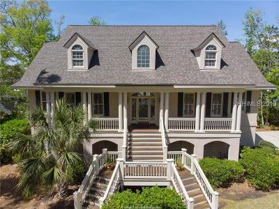 Hilton Head Island Single Family Home For Sale: 16 Bear Island Road