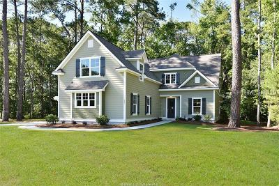 Bluffton Single Family Home For Sale: 203 Barrett Browning Road