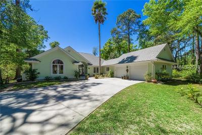 Hilton Head Island Single Family Home For Sale: 23 Brunson Court