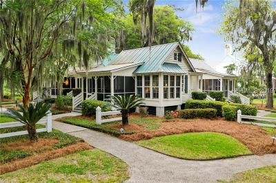 Bluffton SC Single Family Home For Sale: $595,000