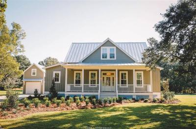 Bluffton SC Single Family Home For Sale: $589,000