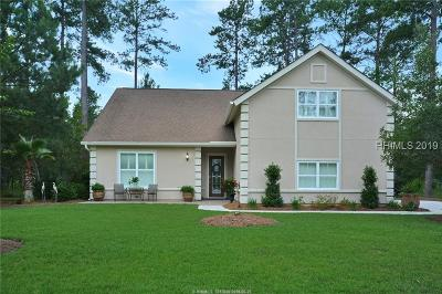 Jasper County Single Family Home For Sale: 319 Starboard Tack