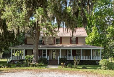 Beaufort Single Family Home For Sale: 63 Providence Road
