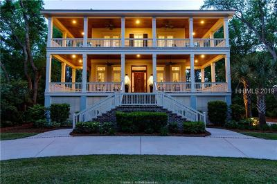 Hilton Head Island Single Family Home For Sale: 45 Port Tack