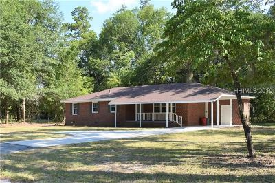 Jasper County Single Family Home For Sale: 128 Lawtonville Road