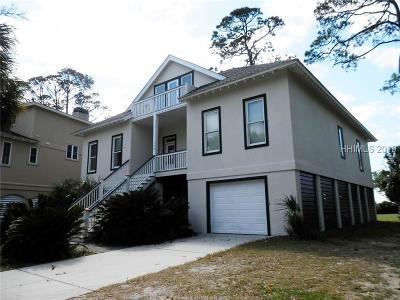 Fripp Island Single Family Home For Sale: 186 Davis Love Drive