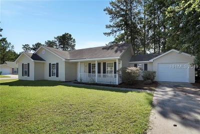 Jasper County Single Family Home For Sale: 13 Virginia Pine