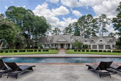 Single Family Home For Sale: 155 Gascoigne Bluff Road
