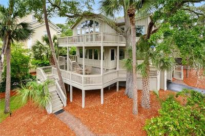 Hilton Head Island Single Family Home For Sale: 106 Oceanwood Trace
