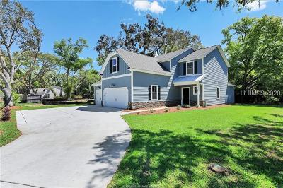 Hilton Head Island Single Family Home For Sale: 198 Beach City Road