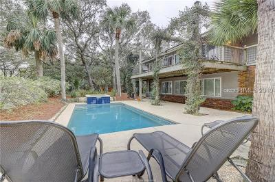 Hilton Head Island Single Family Home For Sale: 8 Lark Street