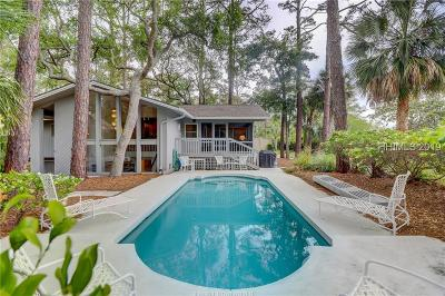 Hilton Head Island Single Family Home For Sale: 11 Marsh Wren Road