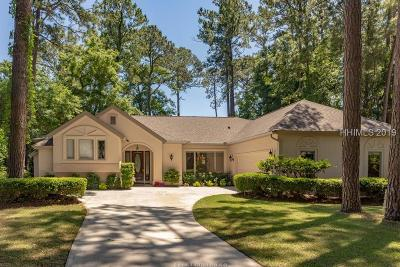 Hilton Head Island Single Family Home For Sale: 10 Chantilly Lane