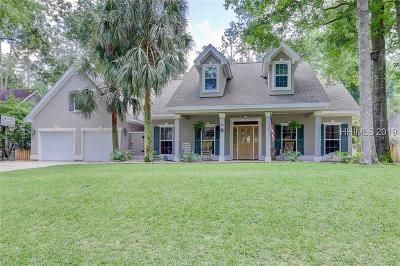 Bluffton Single Family Home For Sale: 50 Old Sawmill Drive
