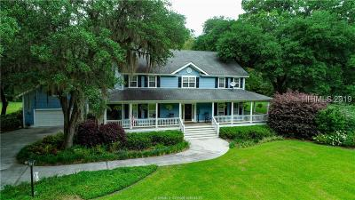 Ridgeland Single Family Home For Sale: 2671 Glover Road