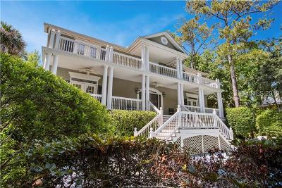 Hilton Head Island Single Family Home For Sale: 22 Mallard Road