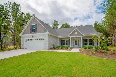 Hardeeville Single Family Home For Sale: 447 Osprey Lake Circle