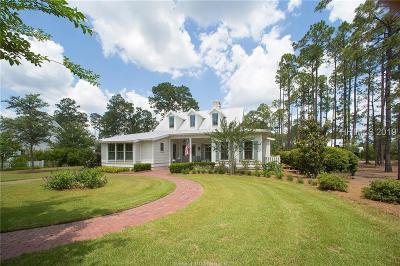 Bluffton Single Family Home For Sale: 10 Hunting Lodge Road