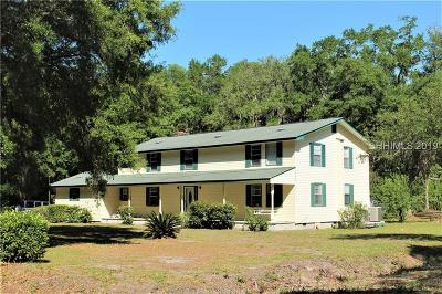 Beaufort County Single Family Home For Sale: 100 Fripp Point Road