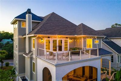 Hilton Head Island Single Family Home For Sale: 66 Crosswinds Drive