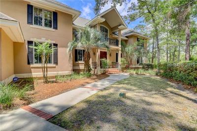 Hilton Head Island Single Family Home For Sale: 7 Hatteras Court