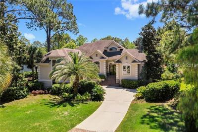 Beaufort County Single Family Home For Sale: 9 Wexford Club Drive