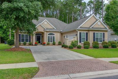 Bluffton Single Family Home For Sale: 17 Stoney Point Drive