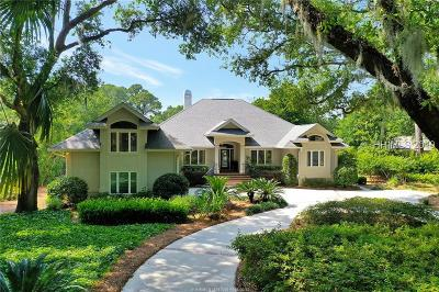 Hilton Head Island Single Family Home For Sale: 18 Sovereign Drive