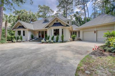 Hilton Head Island Single Family Home For Sale: 15 Duck Hawk Road