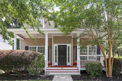 Bluffton Single Family Home For Sale: 24 Ashbury Court