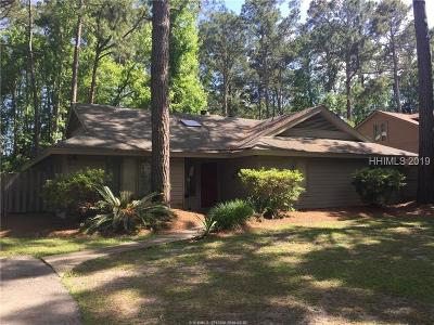 Hilton Head Island Single Family Home For Sale: 33 Edgewood Drive