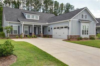 Beaufort County Single Family Home For Sale: 322 Lake Bluff Drive