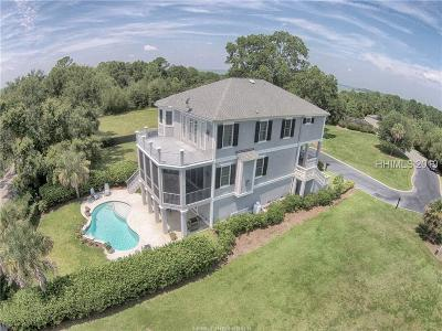 Hilton Head Island Single Family Home For Sale: 19 Shear Water Drive