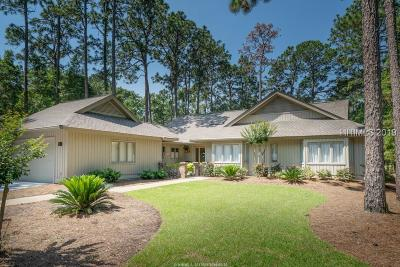 Hilton Head Island SC Single Family Home For Sale: $629,900