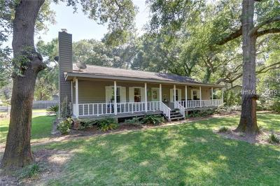 Beaufort Single Family Home For Sale: 4 Miller Drive W
