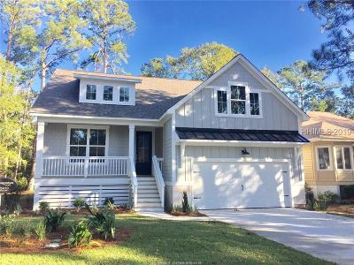 Hilton Head Island Single Family Home For Sale: 46 Wax Myrtle Court
