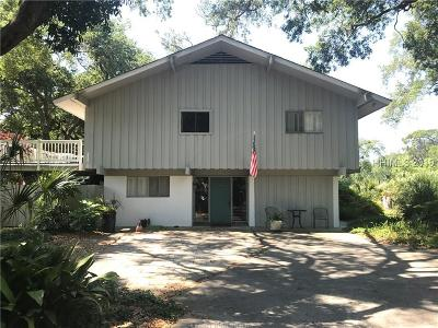 Hilton Head Island Single Family Home For Sale: 3 Stuart Place