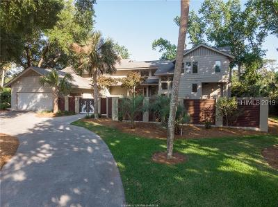 Hilton Head Island Single Family Home For Sale: 17 S Live Oak Road