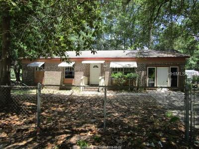 Beaufort Single Family Home For Sale: 18 Kennedy Circle
