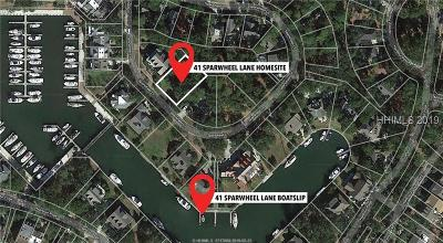 Hilton Head Island Residential Lots & Land For Sale: 41 Sparwheel Lane